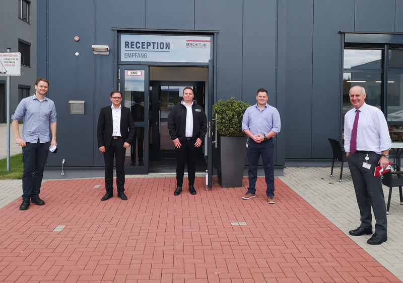 CCP Gransden Collaboration With Broetje Automation - News from CCP Gransden